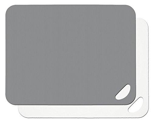 Lurch Germany Flexible Cutting Boards Set of 2 Flint GreyWhite