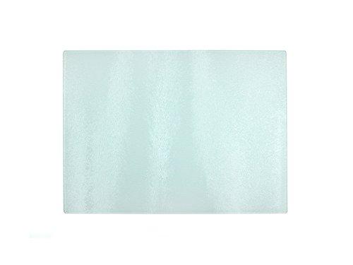 1 Pcs Blank Glass cutting board Dye Sublimation heat transfer 30X28 cm