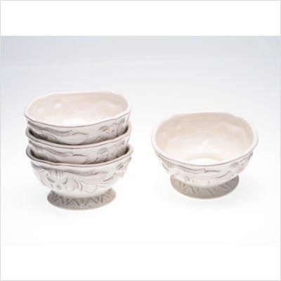 Certified International Firenze Ivory 6-Inch Ice Cream Bowl Set of 4
