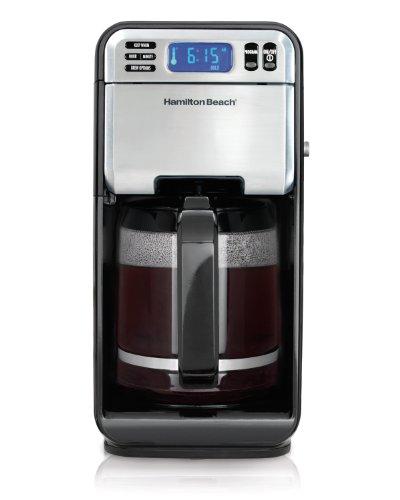 Hamilton Beach 12-cup Digital Coffee Maker, Stainless Steel (46201)