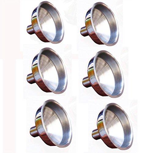 Iuhan New Stainless Steel Mini Funnel for Essential Oil Bottles  Flasks