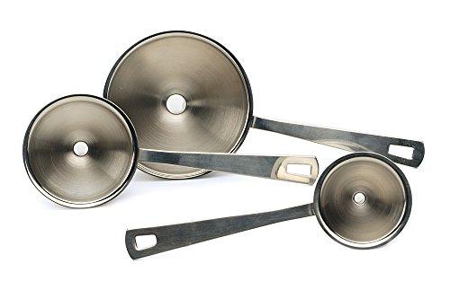 RSVP Endurance 188 Stainless Steel Mini Funnel Set of 3