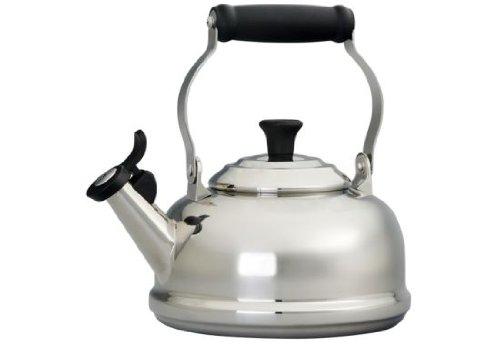 Le Creuset 175 -Quart Stainless Steel Whistling Tea Kettle