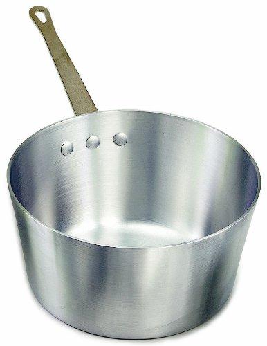 Crestware 2-12-Quart Heavy Gauge Aluminum Sauce Pan