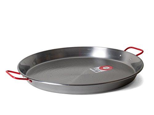 Garcima 20-Inch Carbon Steel Paella Pan 50cm