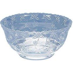 Bowl Punch Clear 12-quart, Ea, 06-0496 Maryland Plastics Baskets And Bowls