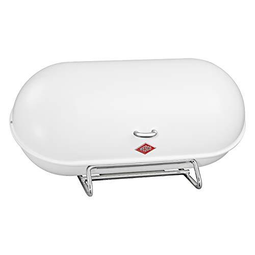 WESCO Breadboy - Steel Bread Box for KitchenStorage Container White