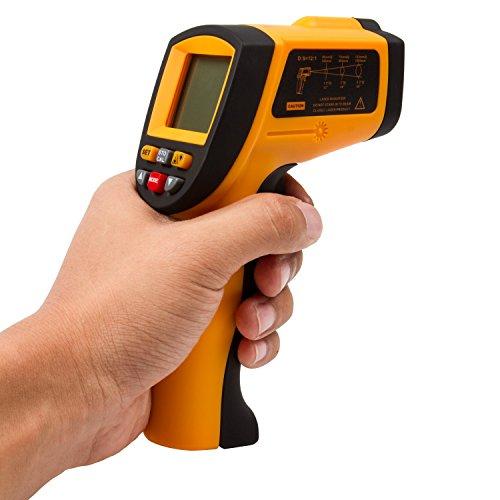 autvivi Non-contact Digital Laser Infrared Thermometer Temperature Gun GM700 -50 ~ 700℃ -58~1292℉