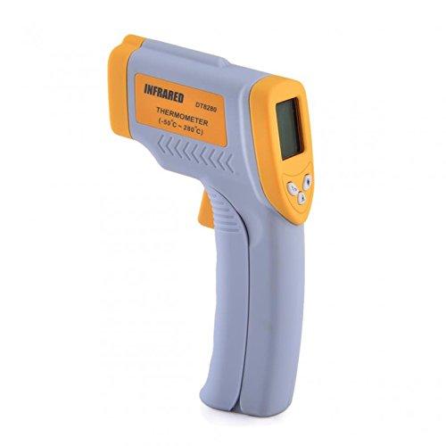 Julyfox Wireless Digital Infrared Thermometer Temperature Gun Yellowgray