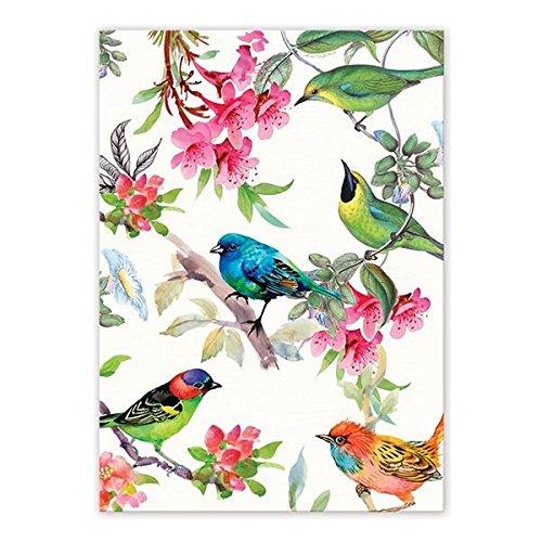 Michel Design Works TOW296 Cotton Kitchen Dish Towel Bird Song