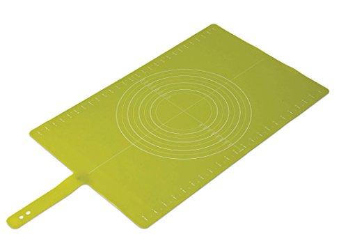 Joseph Joseph Silicone Non-Slip Pastry Mat with Measurements Roll-Up Gree