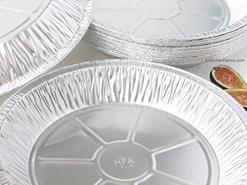 Handi-Foil 11 Aluminum Foil Pie Pan Extra-Deep Disposable Tin Plates pack of 25