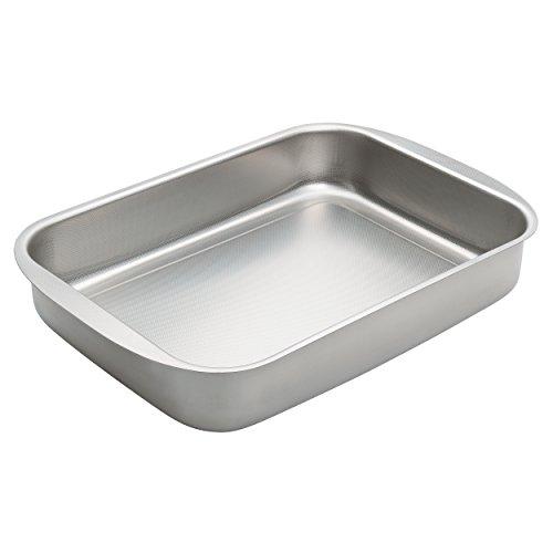 Moha Al Forno Non-Stick Roaster Stainless Steel Silver 25 x 18 x 5 cm