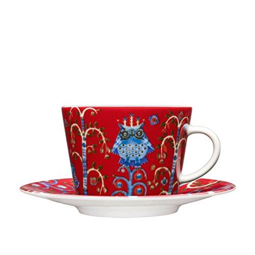 Iittala Taika 6-34-Ounce Capacity CoffeeCappuccino Cup Red