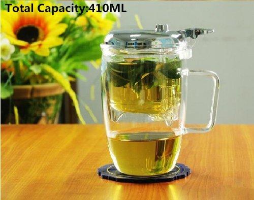 Top Grade Automatic Glass Tea Mugteapot410ml