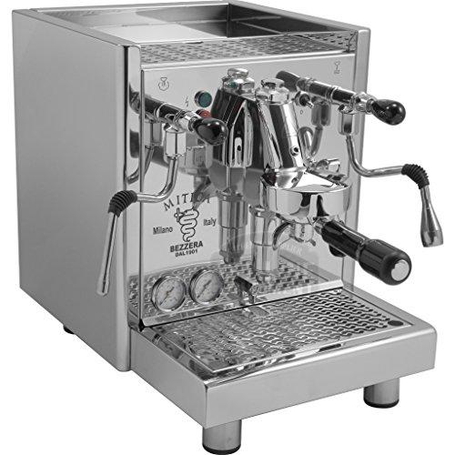 Bezzera Mitica Commercial Espresso Machine - HX SS PID boiler switchable tank  direct connect Rotary Vane Pump