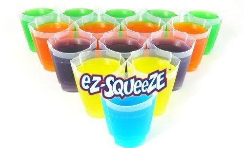 100 EZ-Squeeze Jello Shot Cups NEW No More MESS