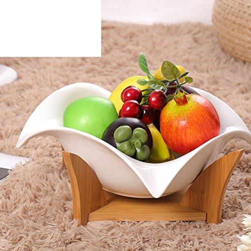 Continental FruitCeramicsCreative Fruit BowlHousehold Soup Plate