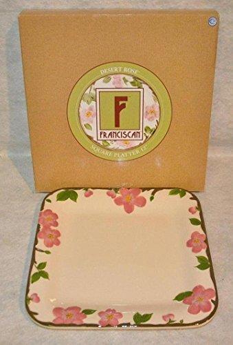 Franciscan Desert Rose 12 Square Serving Platter