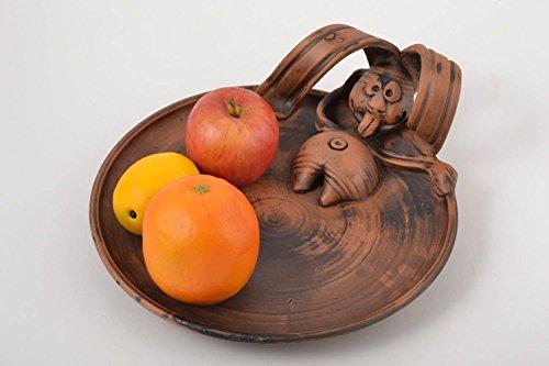 Handmade Ceramic Plate Decoration For Home Handmade Tableware Designer Pottery