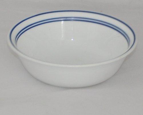 Corelle Blue Cafe Soup  Cereal Bowl - Blue Band