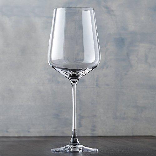 Wine Enthusiast Fusion Infinity CabernetMerlot Wine Glasses Set of 4