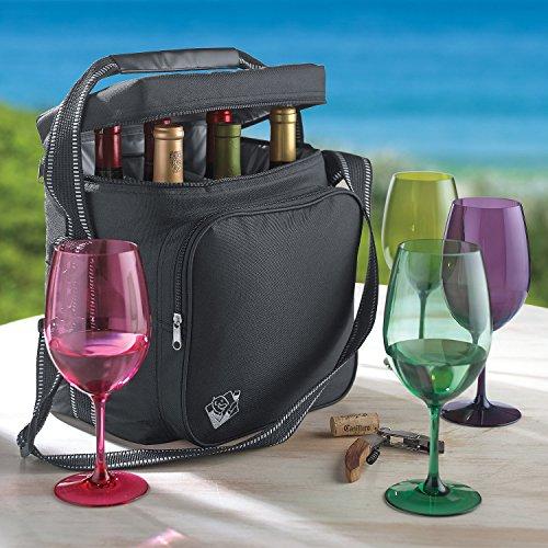 Wine Enthusiast Weekend Wine Bag