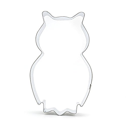 1x Kitchenware Pastry Cake Decorations Baking Tool Mould Ausstecher Biscuit Cookie Cutter Cc256 Owl Nighthawk