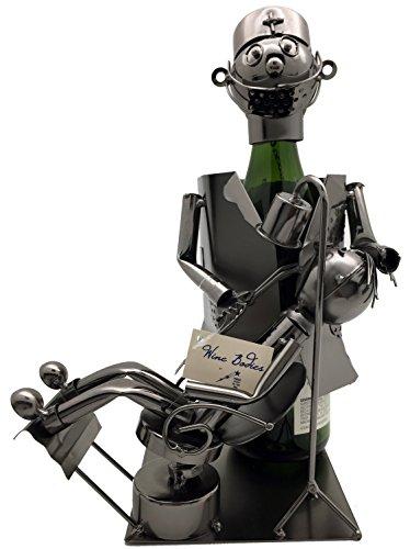 WINE BOTTLE HOLDER DENTIST Character Wine Caddy