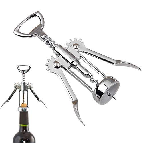 Eye eye Stainless Steel Wing Style Red Wine Corkscrew Bottle Pull Opener Wine Cork Tool