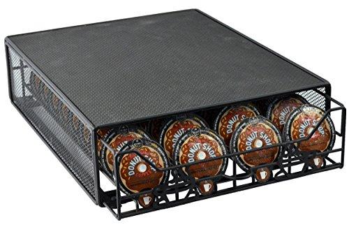 Southern Homewares Keurig Vue Cup Storage Drawer Holds 36 Vue Pods Black
