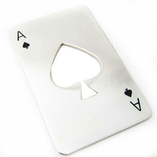 Leegoal Credit Card Size Casino Bottle Opener