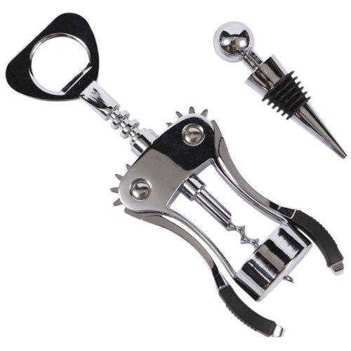 Precision Kitchenware - Luxury Corkscrew And Wine Stopper Set