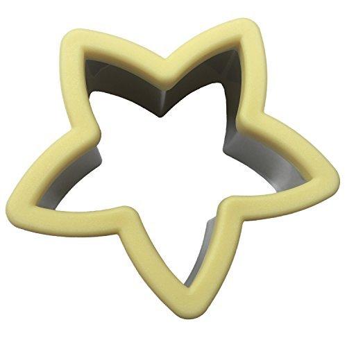 Ebake Stainless Steel Sandwich Cutter Biscuit Mold Cookie Cutter Star
