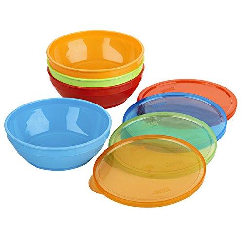 Gerber Graduates Bunch-a-bowls, 8-piece Set