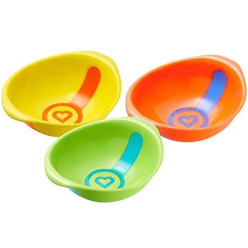 Munchkin White Hot Toddler Bowls, 3 Count