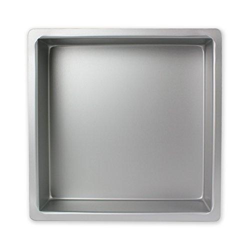 PME Seamless Professional Square Cake Tin Pan 3 Inch Deep - 11 x 11 Inch