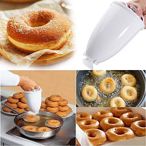 Donut Maker Botrong Plastic Doughnut Maker Machine Mold DIY Tool Kitchen Pastry Making Bake Ware