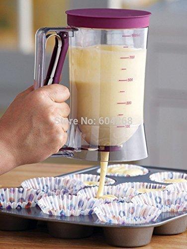 New Baking Essentials Cake Batter Cream Dispenser Dough Cupcake Batter Dispensers by YingYing Home