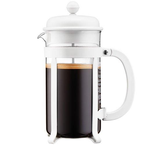Bodum 1908-913 8 cup Java French Press Coffee Maker 34 oz White