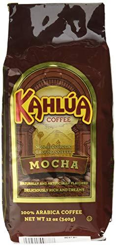 Kahlua Gourmet Ground Coffee Mocha 12 Ounce