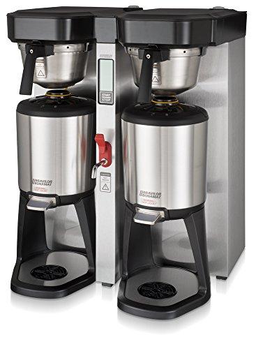 Bravilor Bonamat 804006821004-240V Twin Tank Thermal Coffee Brewer 15 gal Stainless Steel 240V