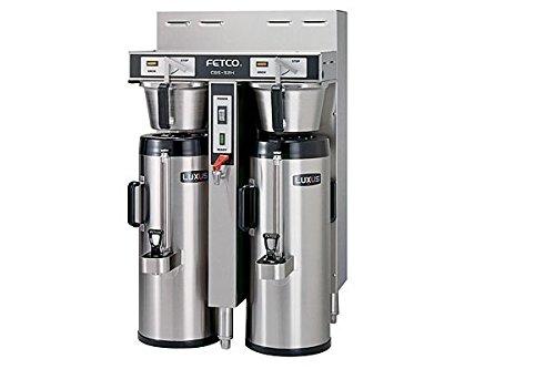 Fetco Dual 15 Gallon Thermal Coffee Brewer Cbs-52H-15-C52186