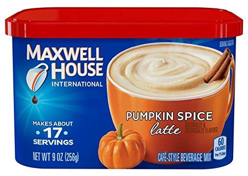 Maxwell House International Latte Pumpkin Spice 90-Ounce