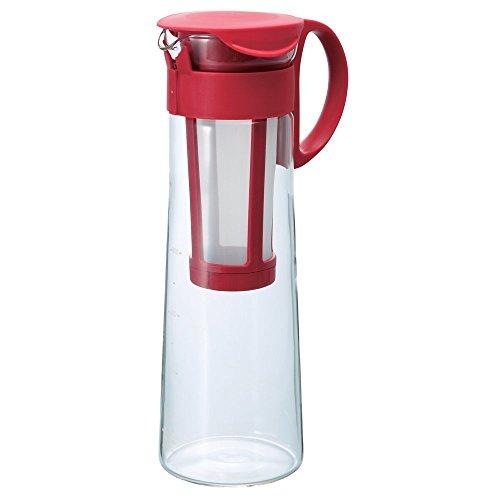 Hario Mizudashi Cold Brew Iced Coffee PotMaker 1000ml Red