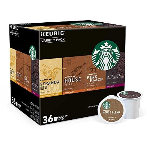 Keurig Starbucks 36-ct K-Cup Pods Coffee Variety Pack