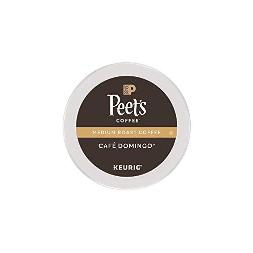 Peet's Coffee Café Domingo Medium Roast K-Cup Pack 10ct