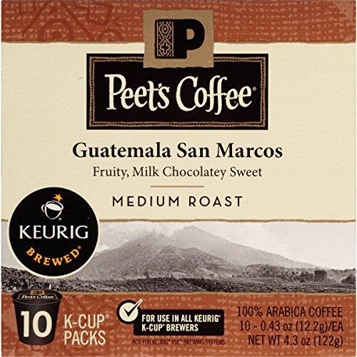 Peets Coffee Guatemala San Marcos K-Cup Packs Medium Roast 10 Ct