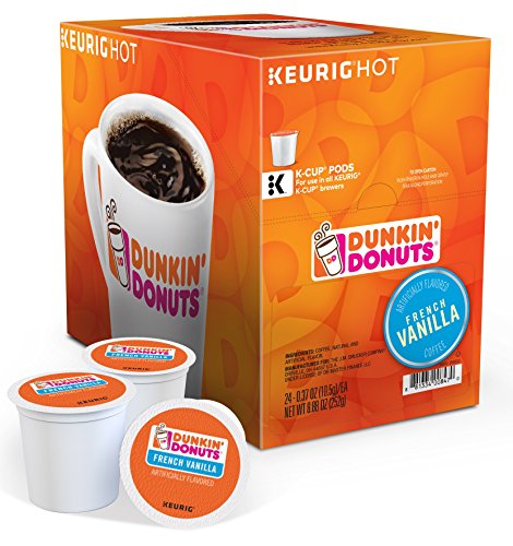 Dunkin Donuts French Vanilla K-Cups 120 Count with Bonus K-Cups