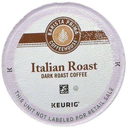 Barista Prima Coffeehouse Italian Roast  Single Serve Coffee K-Cups 48-Count For Brewers